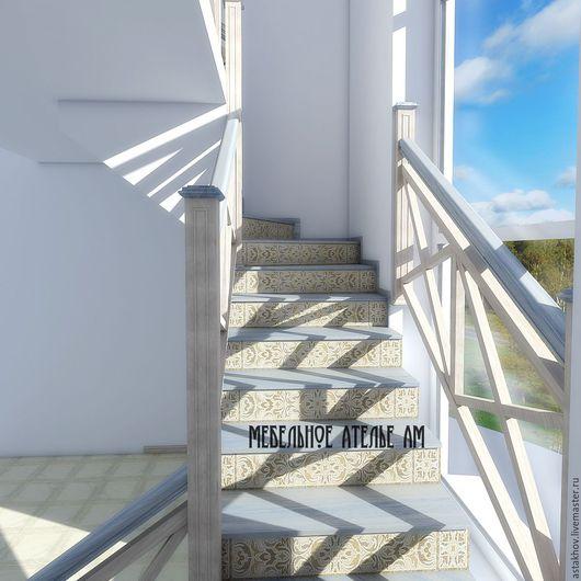 Лестницы из дерева на заказ. Дизайнерские лестницы на заказ выполняются из дерева.