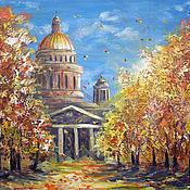 Картины и панно ручной работы. Ярмарка Мастеров - ручная работа Осень в Питере. Handmade.