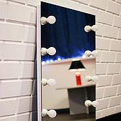 Для дома и интерьера ручной работы. Ярмарка Мастеров - ручная работа Макияжное зеркало без рамы. Handmade.