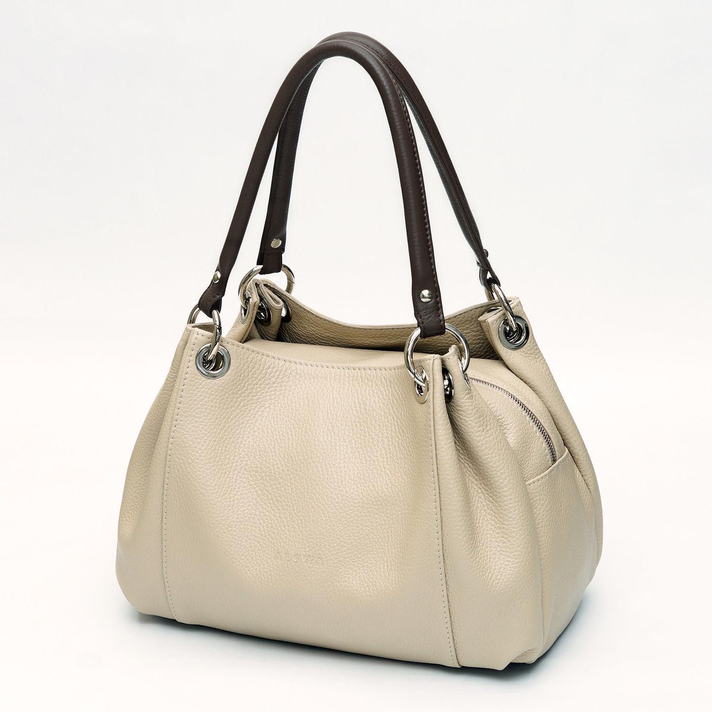 6bf6cc15e296 Женские сумки ручной работы. Ярмарка Мастеров - ручная работа. Купить  Кожаная сумка «Marina ...