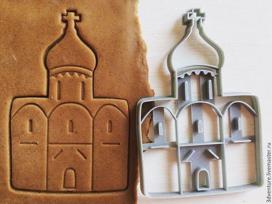 Кухня ручной работы. Ярмарка Мастеров - ручная работа. Купить Форма для печенья Храм. Handmade. Разноцветный, формочка для печенья