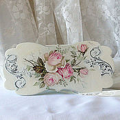 Для дома и интерьера handmade. Livemaster - original item Tea box shabby chic