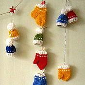 Сувениры и подарки handmade. Livemaster - original item Christmas tree decorations/toys. Christmas garland. Handmade.