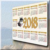 Фотокартины ручной работы. Ярмарка Мастеров - ручная работа календарь карманный 2018. Handmade.