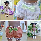 Куклы и игрушки ручной работы. Ярмарка Мастеров - ручная работа Трусики и носочки для кукол от  10 до 35см. Handmade.