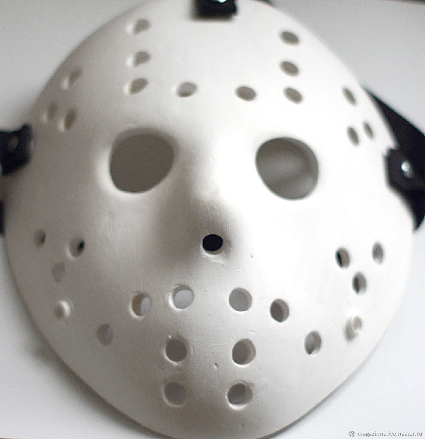 Jason Voorhees Friday the 13th Jason mask White, Mask for role playing, Moscow,  Фото №1