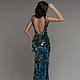 Платья ручной работы. Платье из пайеток двух цветов. DRESSLAB. Ярмарка Мастеров. Пайеточное платье, облегающее платье, ткань