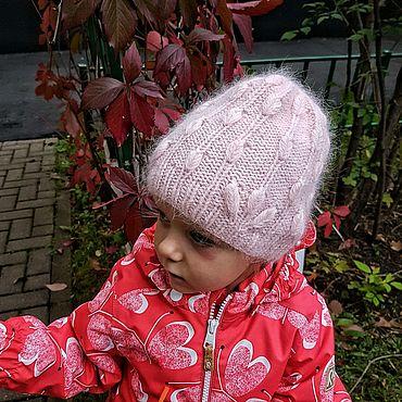 Одежда ручной работы. Ярмарка Мастеров - ручная работа Детская шапка для девочки. Handmade.