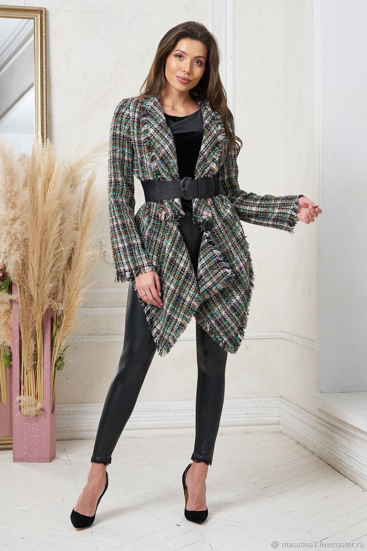 Tweed boho jacket', Jackets, St. Petersburg,  Фото №1