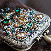 Сумки и аксессуары handmade. Livemaster - original item Phone case for mink Emerald in caramel. Handmade.