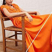 Одежда handmade. Livemaster - original item dresses: Orange dress in boho style Summer Dress. Handmade.