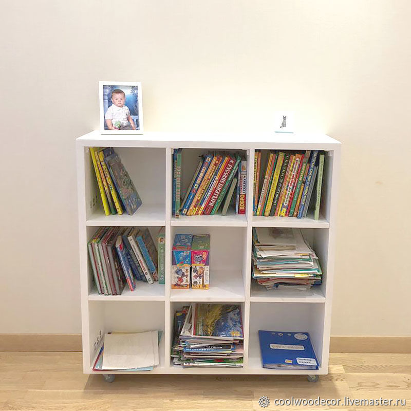Rack white wood Home, Shelving, Lipetsk,  Фото №1