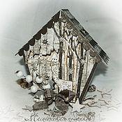 """Подарки к праздникам ручной работы. Ярмарка Мастеров - ручная работа подарочная коробочка """"В зимнем лесу"""". Handmade."""