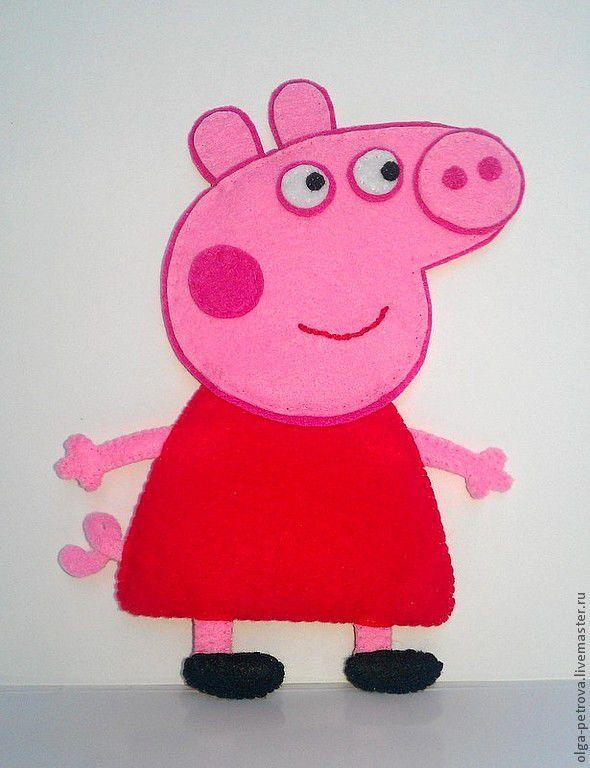 Поделка свинка пеппа своими руками 38