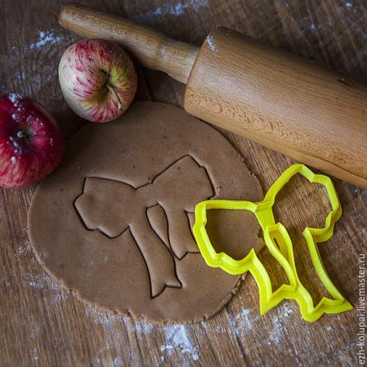 Кухня ручной работы. Ярмарка Мастеров - ручная работа. Купить Бант - №024 Вырубка для пряника. Handmade. Форма для вырубки