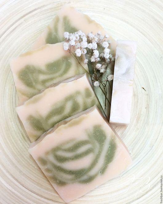 """Мыло ручной работы. Ярмарка Мастеров - ручная работа. Купить """"Лемонграсс"""" натуральное мыло с нуля. Handmade. Комбинированный, кокосовое молоко"""