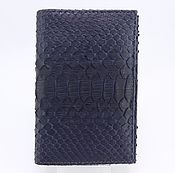 Канцелярские товары handmade. Livemaster - original item Passport cover from Python leather with additional offices IMP0402VC. Handmade.