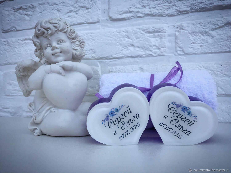 Подарки на свадьбу ручной работы. Ярмарка Мастеров - ручная работа. Купить Свадебное мыло. Комплимент для гостей (№3). Handmade.
