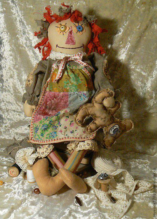 Ароматизированные куклы ручной работы. Ярмарка Мастеров - ручная работа. Купить Чердачная кукла Лукерьюшка.. Handmade. Чердачная игрушка, синтепон