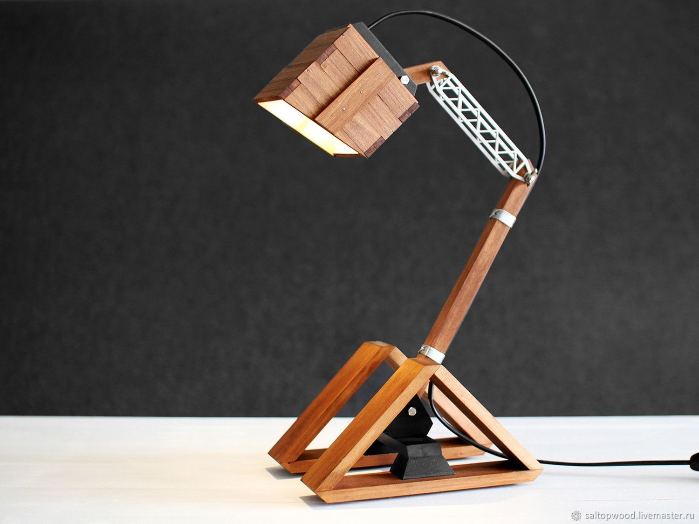 Designer adjustable table lamp