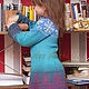 """Одежда для девочек, ручной работы. Заказать Платье """"Принцесса льда"""". Nerilka Екатерина. Ярмарка Мастеров. Платье, жаккард, нарядное платье"""