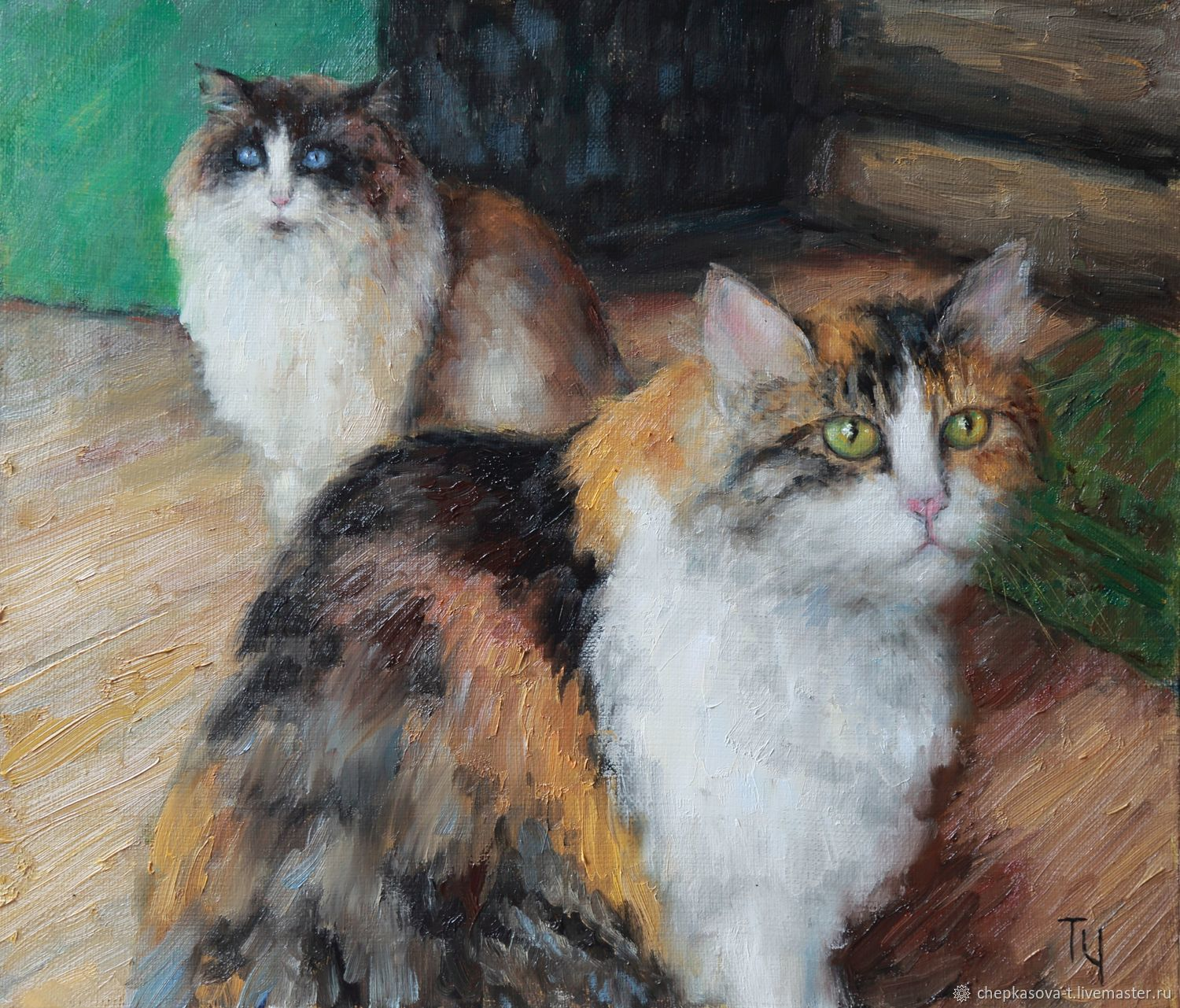 Companions. Oil painting, Pictures, Moscow,  Фото №1