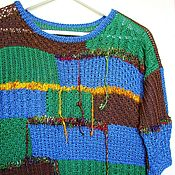 """Одежда ручной работы. Ярмарка Мастеров - ручная работа Джемпер """"Яркое небо"""". Handmade."""