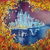 Картины и панно ручной работы. Ярмарка Мастеров - ручная работа Сказочный остров. Handmade.