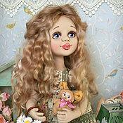 Куклы и игрушки ручной работы. Ярмарка Мастеров - ручная работа Мишель. Коллекционная текстильная кукла. Handmade.