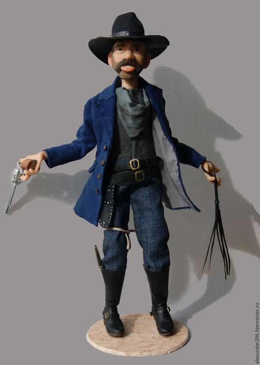 Коллекционные куклы ручной работы. Ярмарка Мастеров - ручная работа. Купить Бьюфорд Таннен(«Бешеный Пёс»). Handmade. Комбинированный, дерево