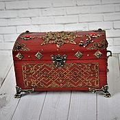 Для дома и интерьера handmade. Livemaster - original item The box is the