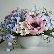 Цветы и флористика handmade. Livemaster - original item Bouquet Of Tenderness-3. Flowers polymer clay handmade.. Handmade.