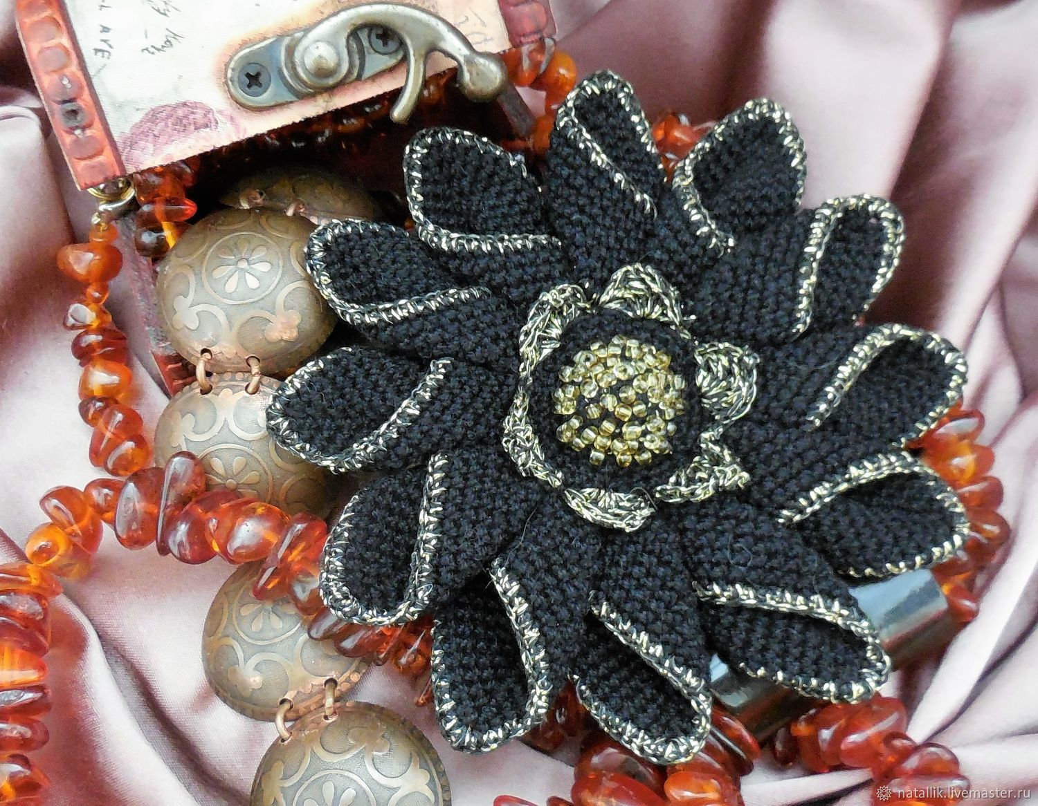 Brooch Flower Royal Lily Shop Online On Livemaster With Shipping