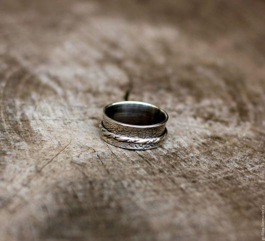 """Кольца ручной работы. Ярмарка Мастеров - ручная работа. Купить кольцо """"Движение второе"""", серебро. Handmade. Серебряный, кольцо из серебра"""