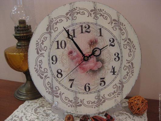 """Часы для дома ручной работы. Ярмарка Мастеров - ручная работа. Купить Часы настенные """"Nostalgie Винтаж"""". Handmade. Комбинированный"""