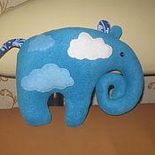 Куклы и игрушки ручной работы. Ярмарка Мастеров - ручная работа Слоны подушки игрушки. Handmade.