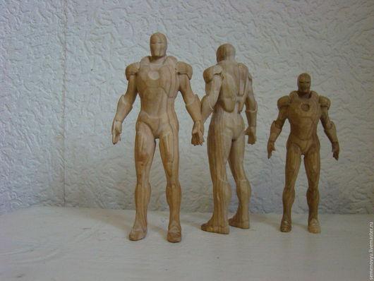 """Человечки ручной работы. Ярмарка Мастеров - ручная работа. Купить Супергерой """"Железный человек"""". Handmade. Супергерои, человечек"""