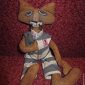 Куклы и пупсы ручной работы. Ярмарка Мастеров - ручная работа Кот с мышем. Handmade.