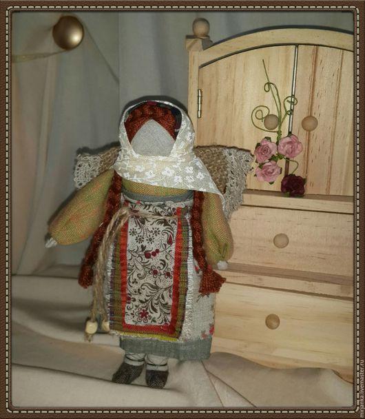 Народные куклы ручной работы. Ярмарка Мастеров - ручная работа. Купить Кукла тряпичная - Настенька. Handmade. Кукла интерьерная, куколка