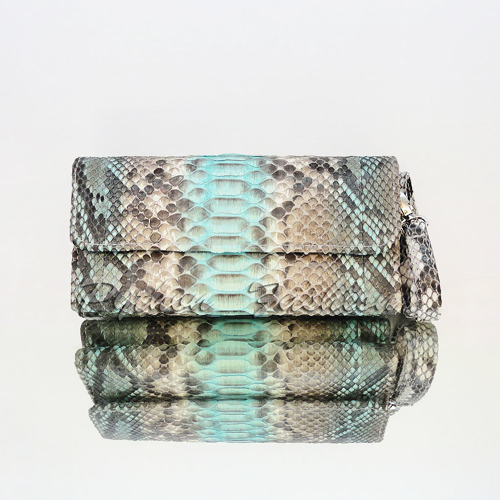 The wallet is made of Python leather WINDSOR, Wallets, Kuta,  Фото №1