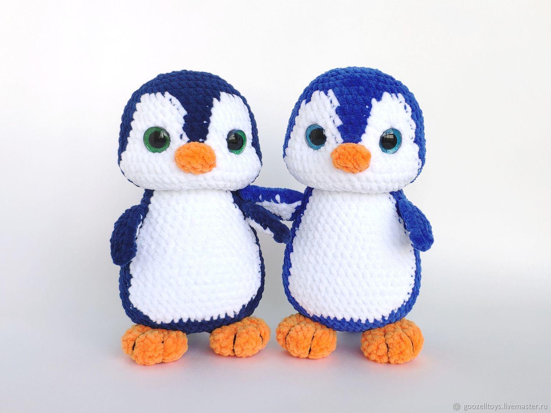 Схема пингвина амигуруми