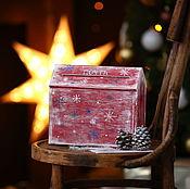 Подарки к праздникам ручной работы. Ярмарка Мастеров - ручная работа Почта Деда Мороза. Handmade.