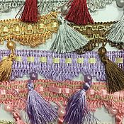 Для дома и интерьера handmade. Livemaster - original item Fringe for curtains, tablecloths, textiles. Handmade.