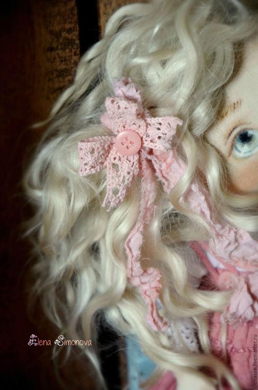 Коллекционные куклы ручной работы. Ярмарка Мастеров - ручная работа. Купить Неженка. Handmade. Розовый, кукла ручной работы, интерьер