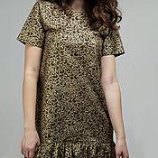 """Одежда ручной работы. Ярмарка Мастеров - ручная работа платье """"Золотые узоры"""". Handmade."""