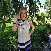 """Одежда ручной работы. Ярмарка Мастеров - ручная работа Платье """"Июль"""". Handmade."""