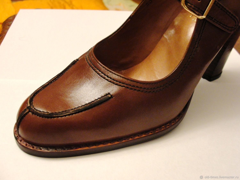 1ae49a645 Купить Винтаж: Туфли женские новые ' Винтажная обувь. Винтаж: Туфли женские  новые 'Martinez Valer' Испания - оригинал.
