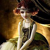 Куклы и игрушки ручной работы. Ярмарка Мастеров - ручная работа Лулу. шарнирная кукла из серии Девушки Зигфилда. Handmade.
