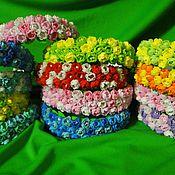 Украшения ручной работы. Ярмарка Мастеров - ручная работа ободки для милых принцесс. Handmade.