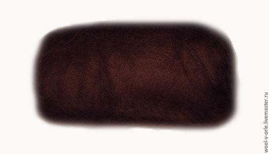"""Валяние ручной работы. Ярмарка Мастеров - ручная работа. Купить Кардочёс 29-32 мкм Цвет """"шоколад"""". Handmade. Коричневый"""